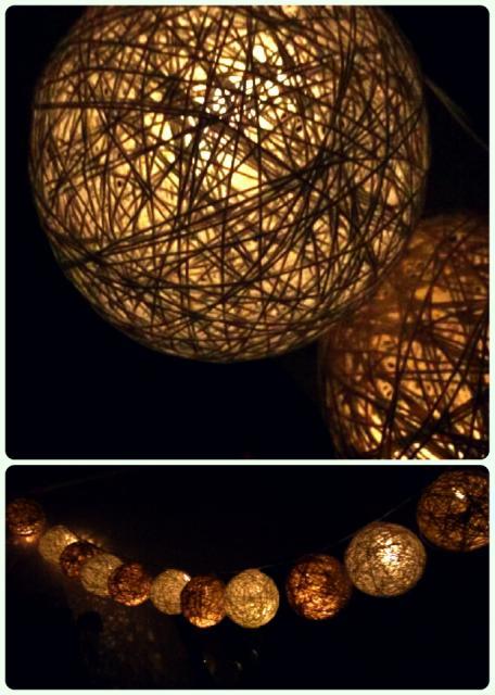 Crochet String Light Balls DIY/ Perfect For Any Room :)