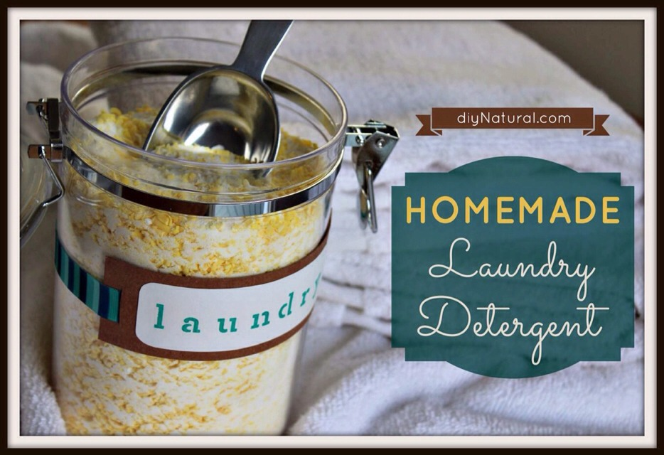 The Original Homemade Laundry Detergent!