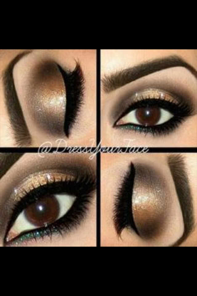 Pretty Makeup For Brown Eyes❤️