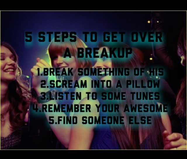Tips For Getting Over A Breakup