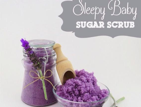 SLEEPY BABY SUGAR SCRUB ~ RELAX AND SLEEP LIKE A BABY! 💜