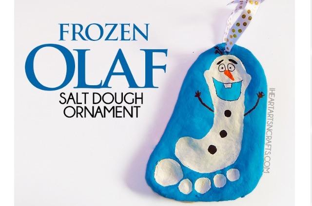 Olaf Christmas Ornament #tipit