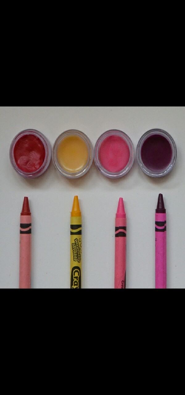 how to make lipstick out of crayons without coconut oil