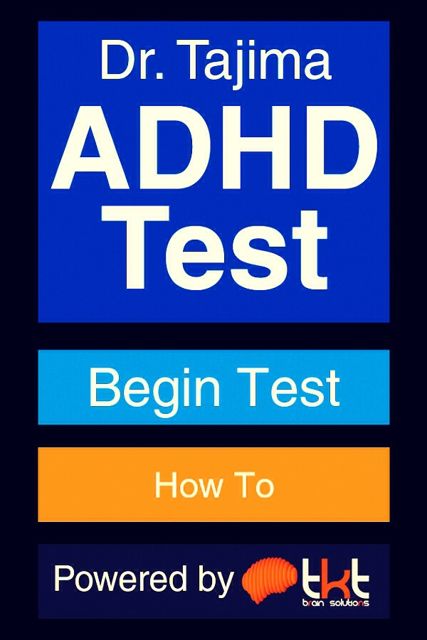 ADHD Test for Children and Adults  15 Minutes Quiz with
