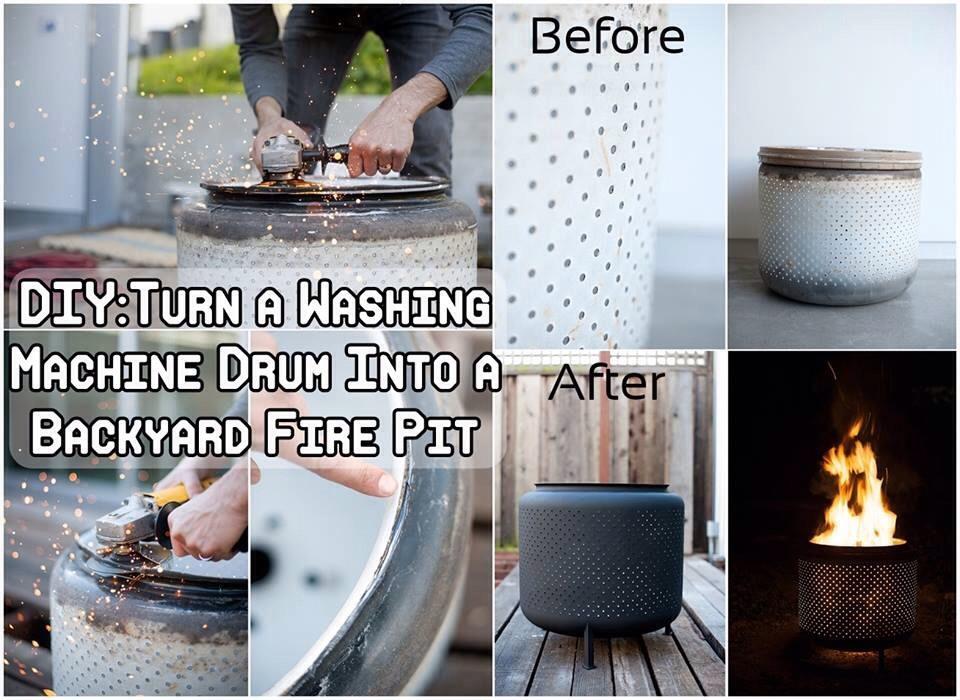 DIY Washing Machine Drum Into Fire Pit!🔥 | Trusper