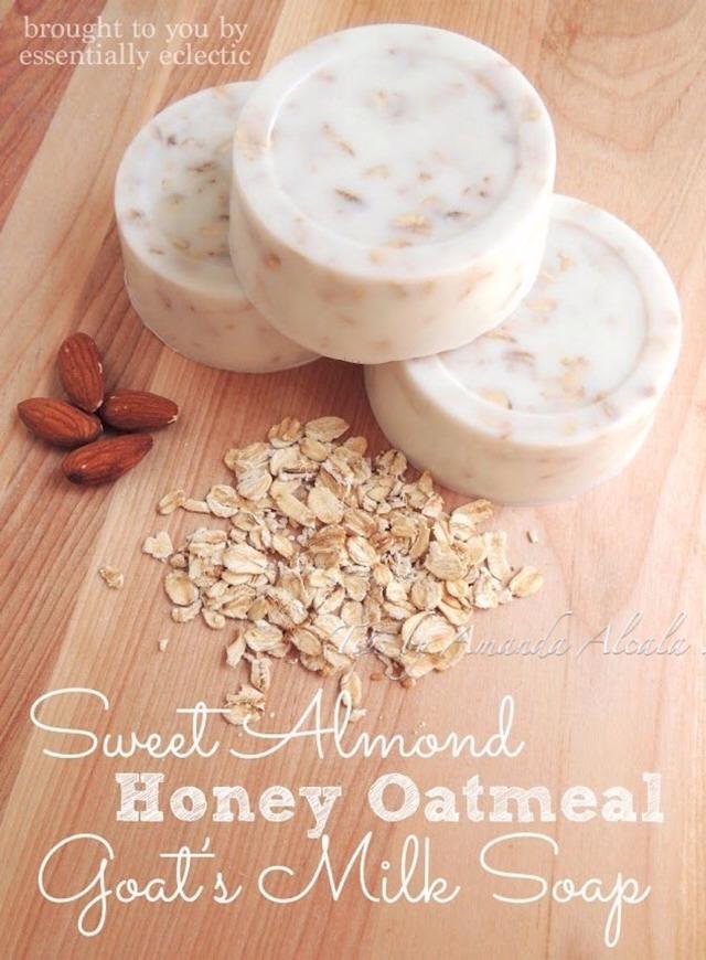 🌟 Wonderful, Magnificent, Amazing DIY Sweet Almond Honey Oatmeal Soap Bars!🌟 #tipit