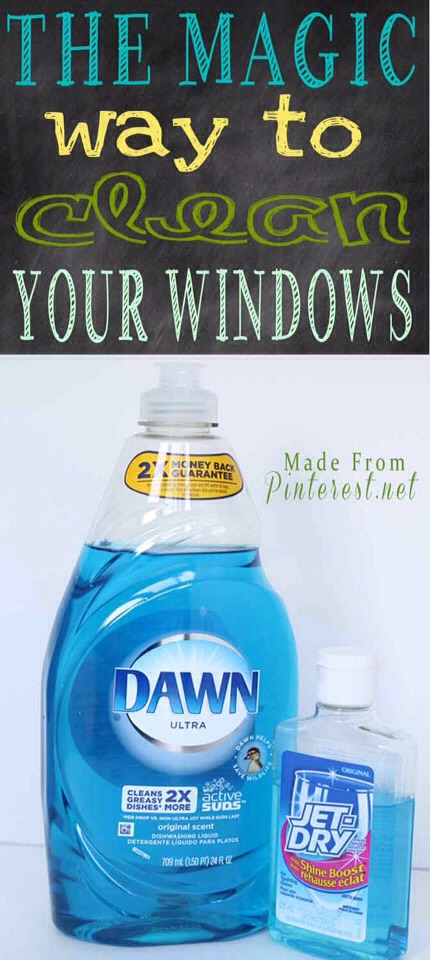 ✨The Magic Way To Clean Your Windows!✨