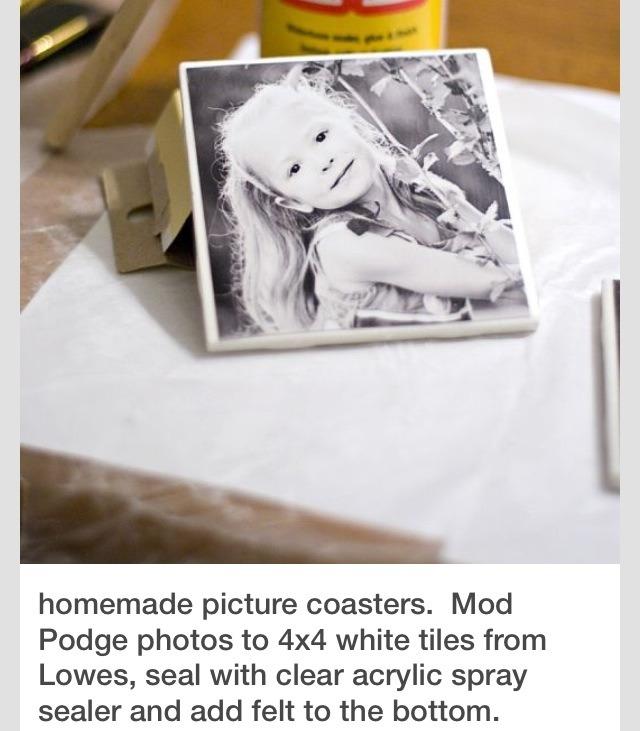 diy homemade picture coasters trusper