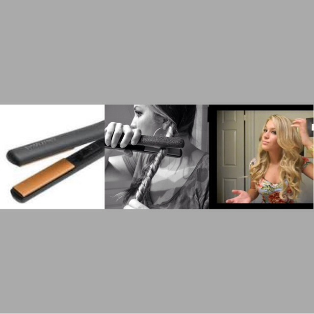 Create Lovely Perfect Beachy Waves With Only 2 Steps ! Twist And Iron ! ✌️