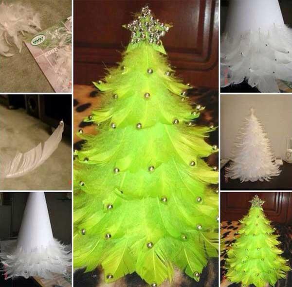 Christmas Tree Made of Bulbs Christmas Tree Made of