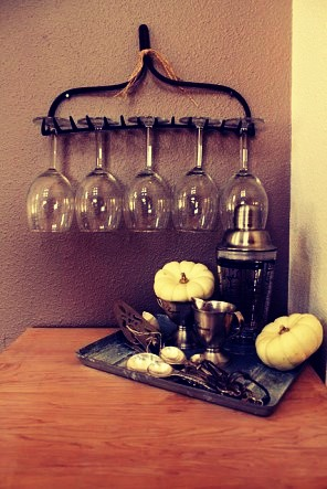 Quick And Easy Wine Glass Holder!!!