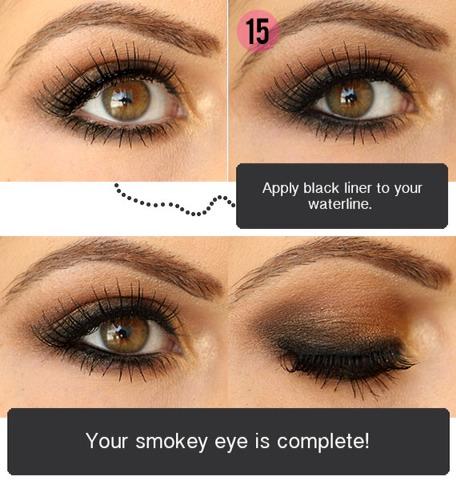 Easy Step By Step Smokey Eye | Trusper