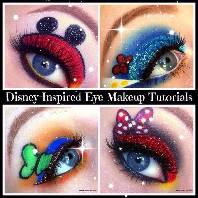 Disney Inspired Eye Makeup Tutorial😍😍