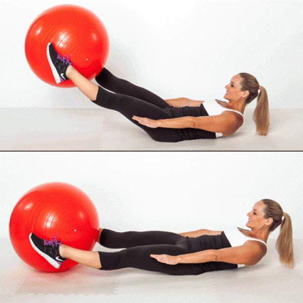 Stability Ball Side Lift: 5 Moves That Will Keep Your Abs Sore For Days