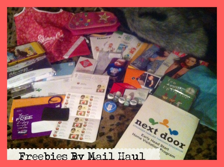 My Freebie Haul And How You Can Get This Too!