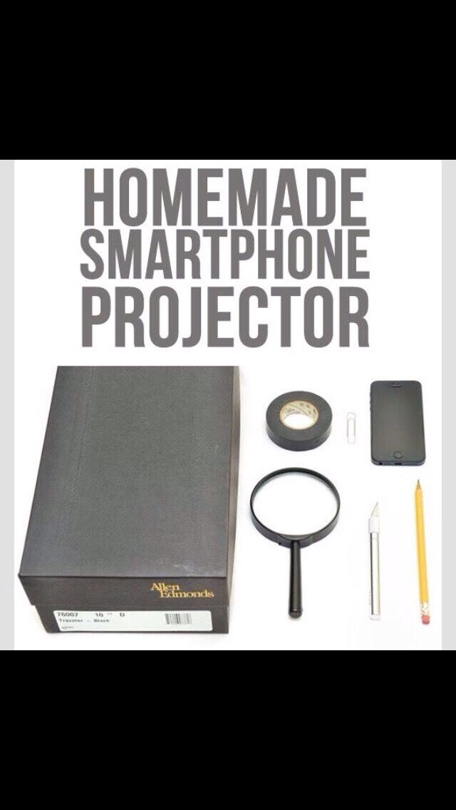 DIY Projector 🙋✔️