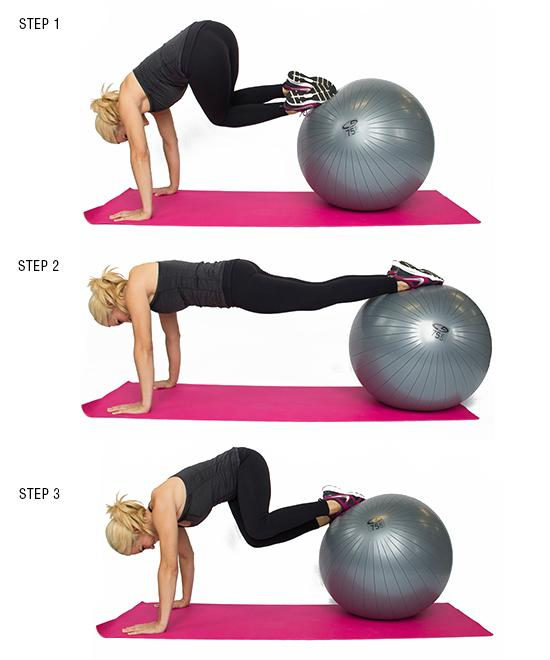 Stability Ball Side Lift: 9 Moves To Shrink Your Muffin Top