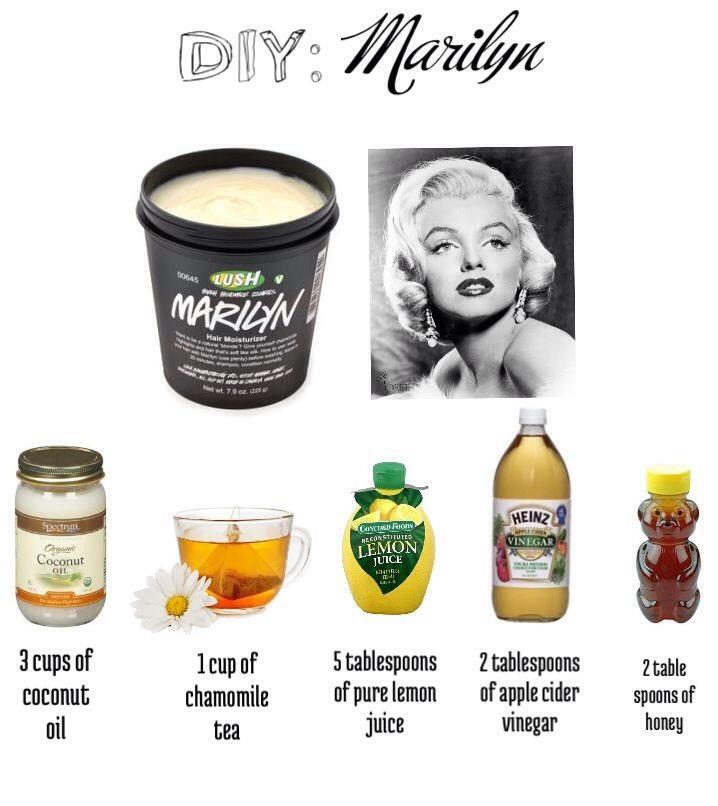 Copycat Lush Marilyn Mask Trusper