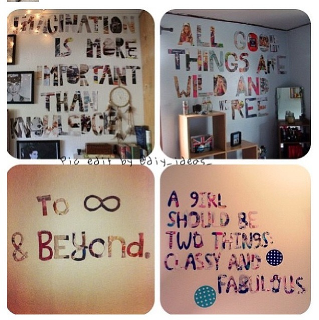 Tumblr room easy diys quotes - Tumblr rooms ideas diy ...