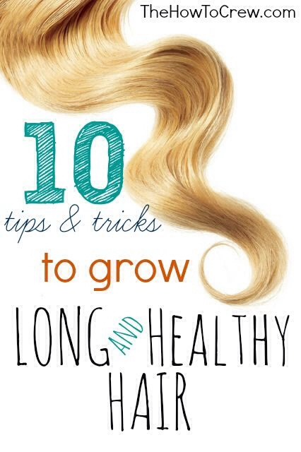 9 Tips For All Hair Type ; To Grow Hair Longer!
