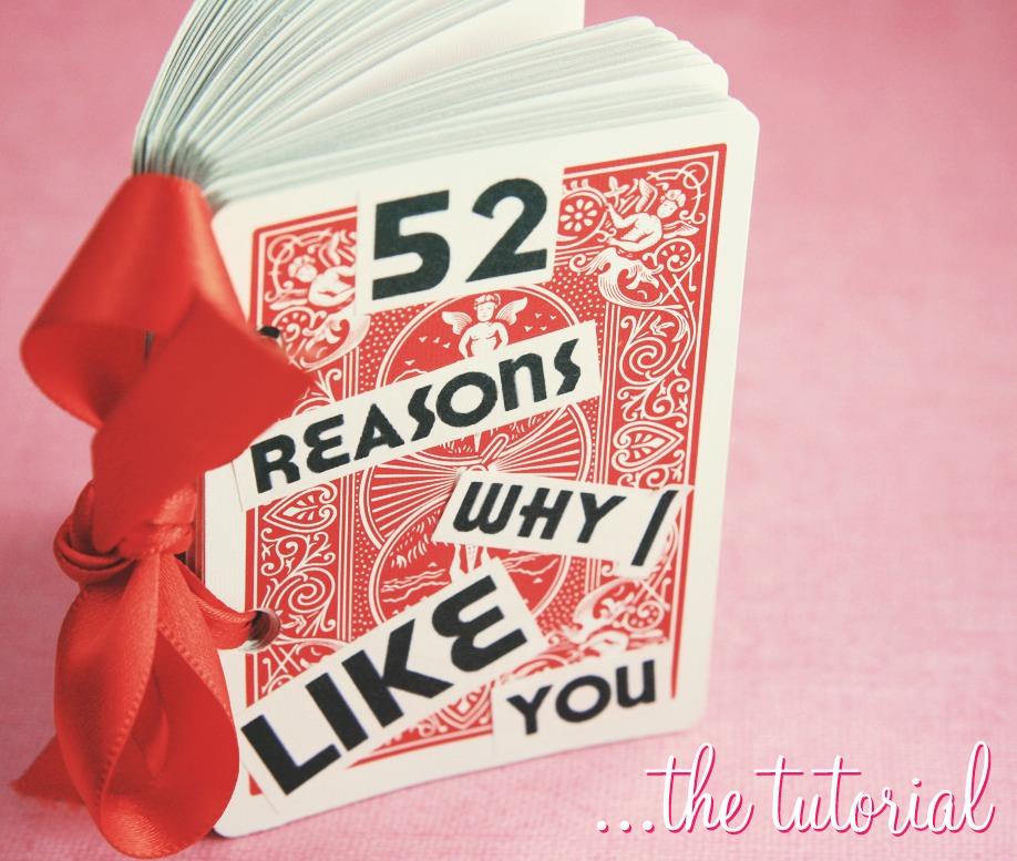 52 reasons why i love you trusper for Sweet valentines day gifts for her
