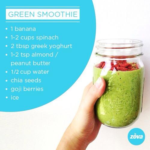 energy boosting green smoothie trusper