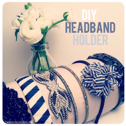 💥✨ Extremely Easy DIY Headband Holder!! ✨💥