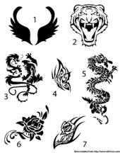 how to create your own temporary tattoo trusper. Black Bedroom Furniture Sets. Home Design Ideas