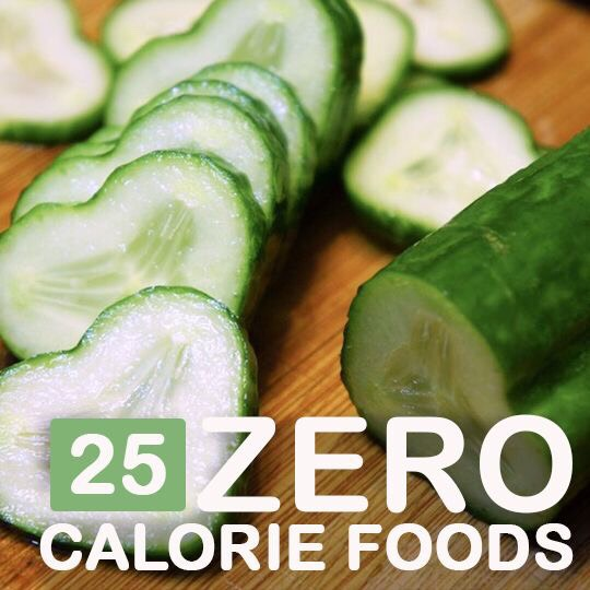 25 zero calorie foods to help you lose weight trusper for Cuisine 0 calorie