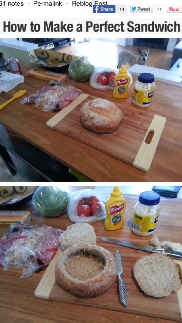 How To Make The Perfect Sandwich | Trusper