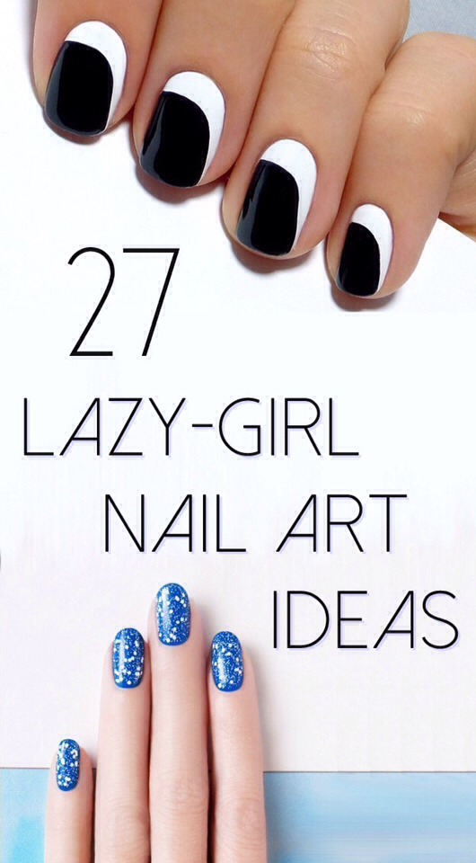 Lazy Girl Nail Art Hacks | Get That Perfect Mani Fast & Effort Free!