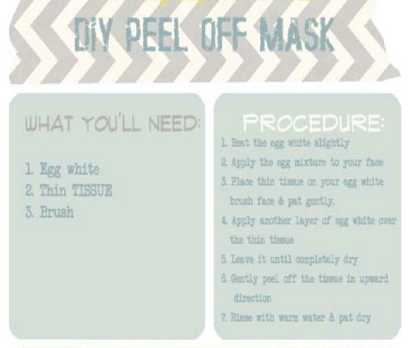 Homemade Peel off Mask!
