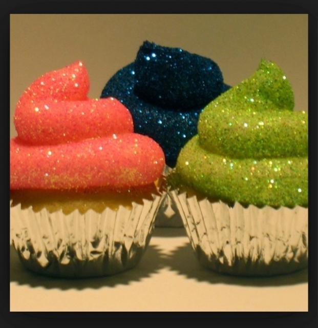 Edible Glittery Icing