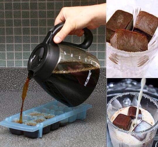 Want Ice Cold Coffee Drinks In The Mornings.?