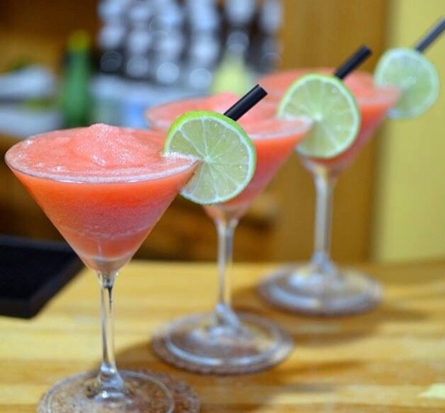 FROZEN WATERMELON MARGARITA ) 2 oz. (60ml) Tequila1 1/2 oz. (45ml ...