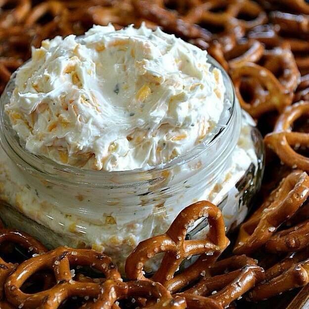 cream cheese pretzel dip