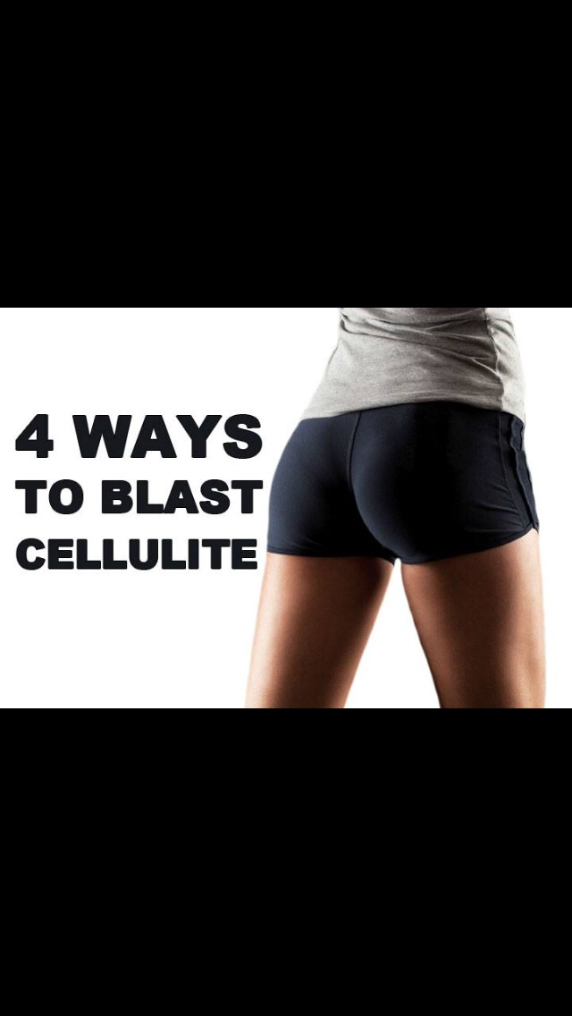 4 Moves To Get Rid Of Cellulite