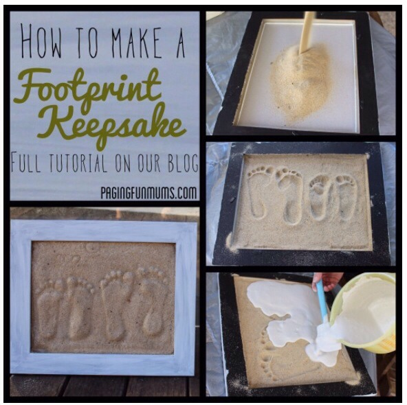 Footprint Keepsake. #tipit
