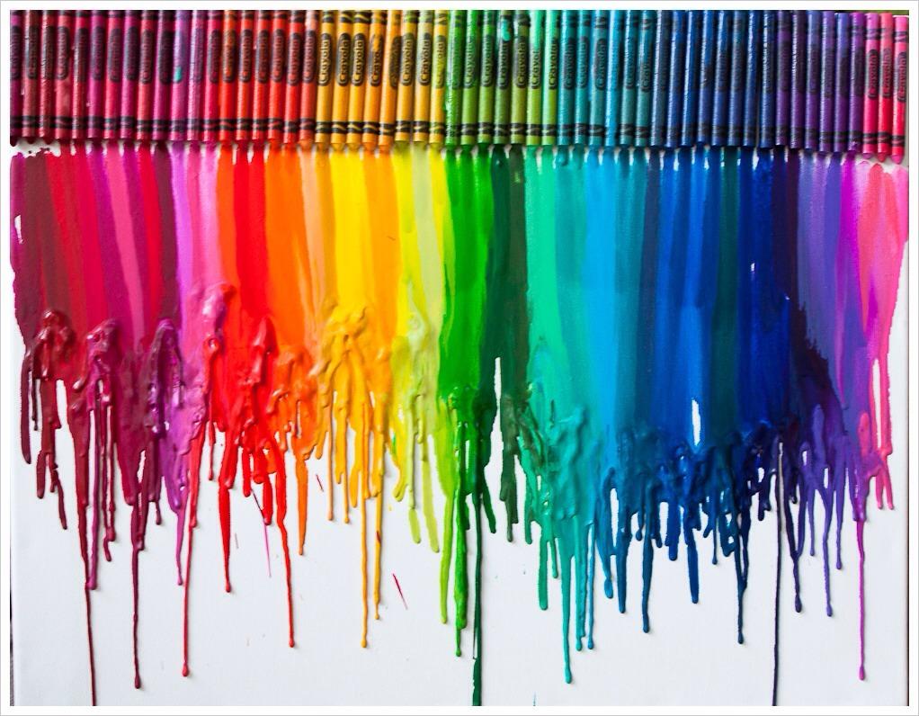 melted crayon art trusper