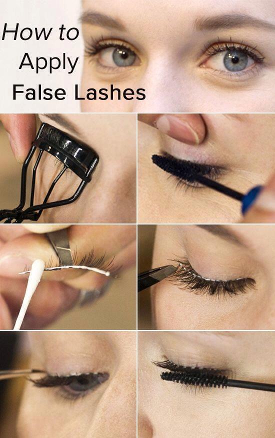Photographs false eyelash application - afghan.delcity91.com