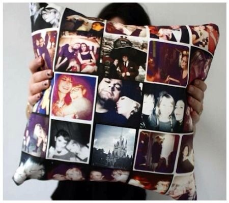 Turn Those Instagram Photos Into A Personalized Pillow 😃👍❤️
