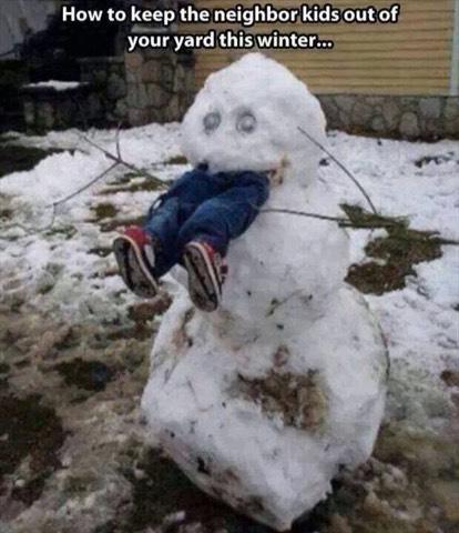 Funny Snow Man ⛄️⛄️⛄️