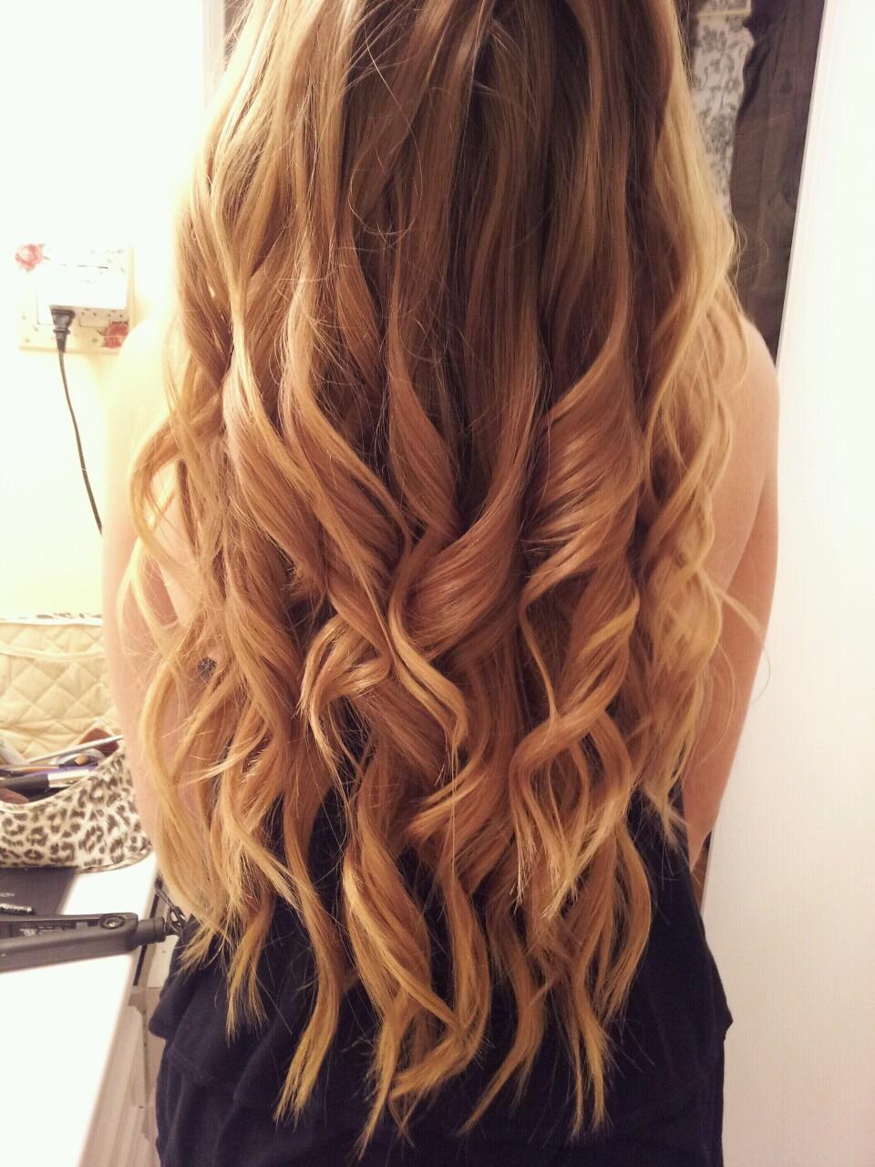 Фото девушек русых волос со спины 6 фотография