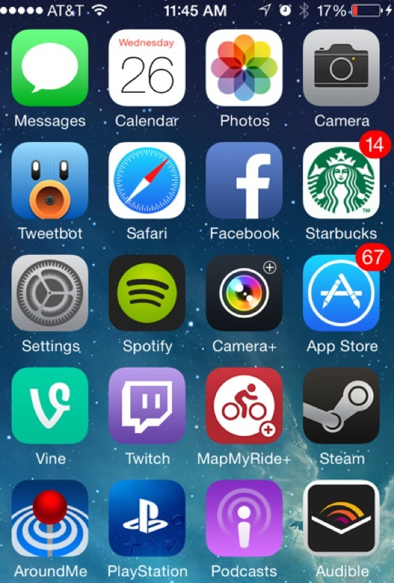 how to put apps into folders on iphone