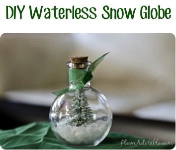 ✨Diy Waterless Snow Globes✨
