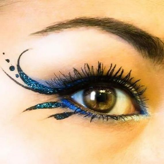 13 Unique eye makeup for Newyear's Eve #tipit