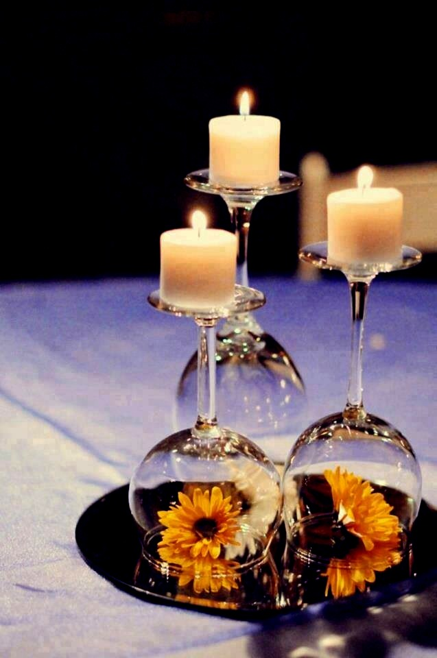 Elegant,Easy And Affordable Candles Holder. Plz👍👍👍for This Idea And Following Me. Thanks
