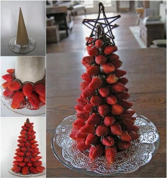 how to make a fruit tree centerpiece