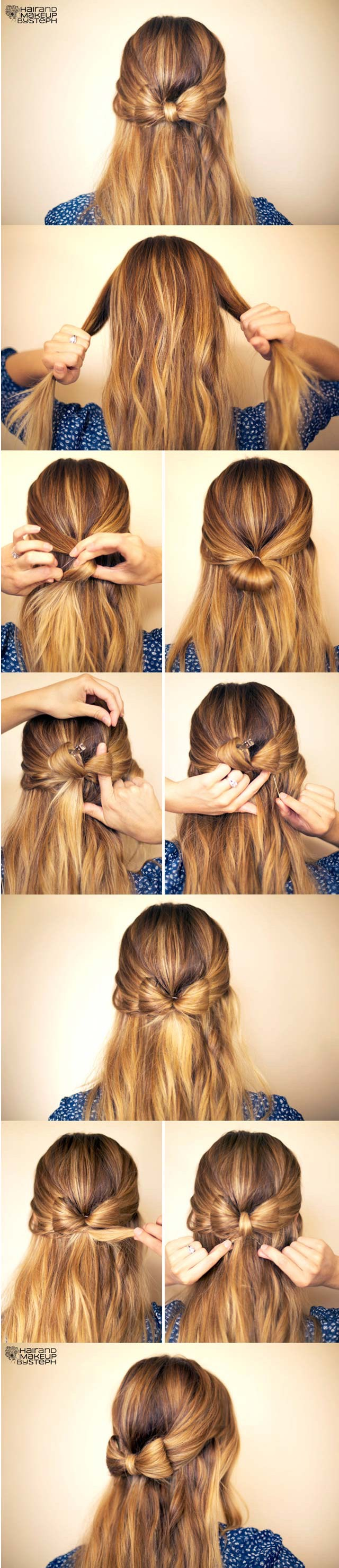 How To Make Hair Bow ✨