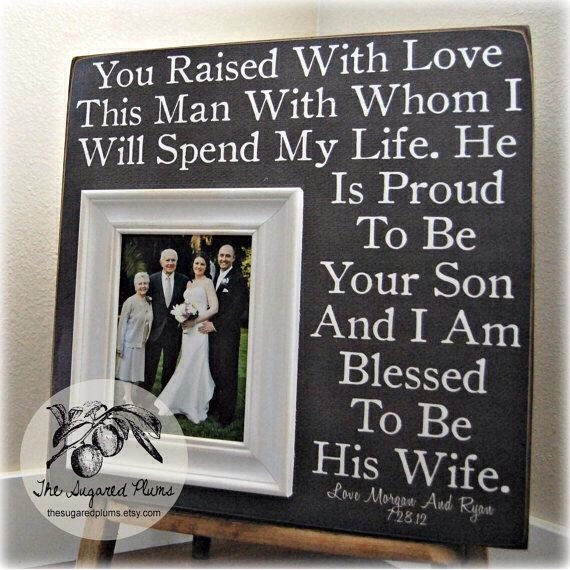 ❤️Parents 'Thank You' Wedding Gift! SO Cute! LOVE!❤️